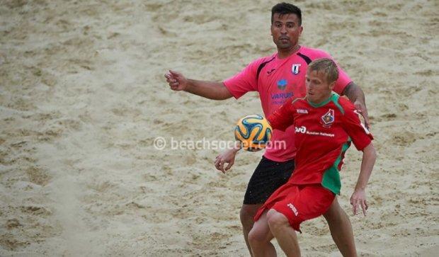 Українці перемогли росіян у європейському чемпіонаті з пляжного футболу