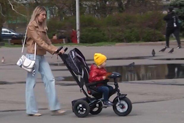 Выплаты на ребенка, кадр из видео