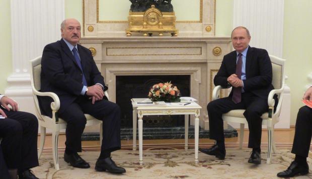 зустріч Путіна з Лукашенком