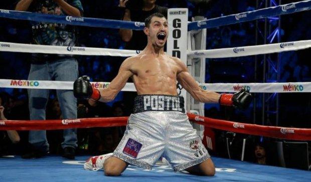 Українець Віктор Постол став чемпіоном світу за версією WBC