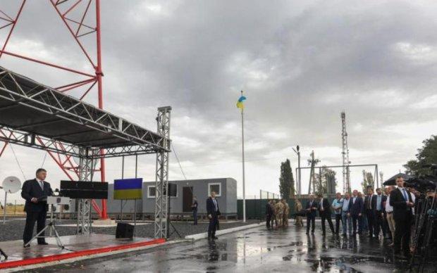 Україна відкрила гігантський ретранслятор для ОРДЛО