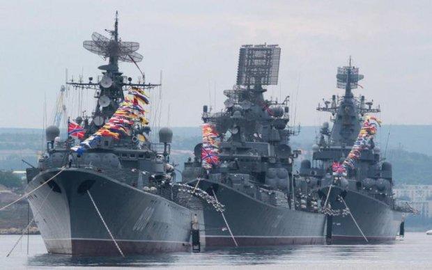 Путін терміново підняв Чорноморський флот: фото