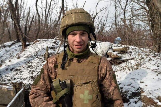Старший сержант Роман з позивним Поет , фото з фейсбук