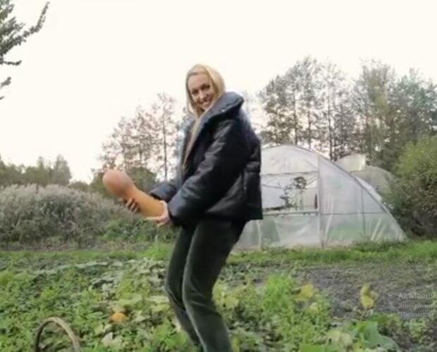 Оля Полякова, скриншот видео Instagram