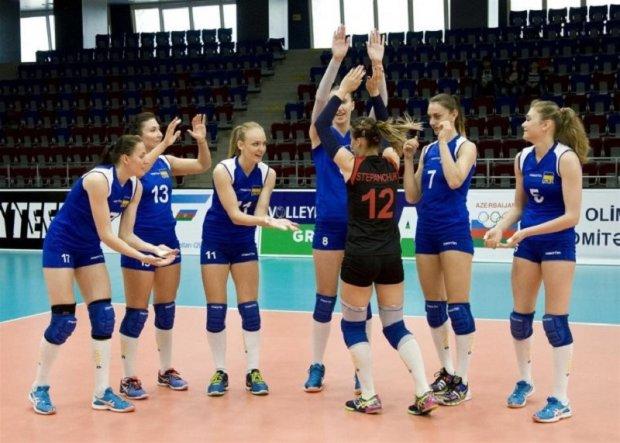 Женская сборная Украины по волейболу стартовала с победы в Евролиге