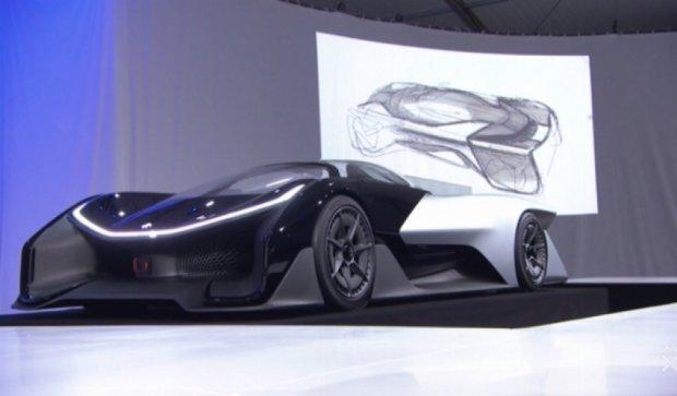 Faraday Future презентував конкурента Tesla (відео)