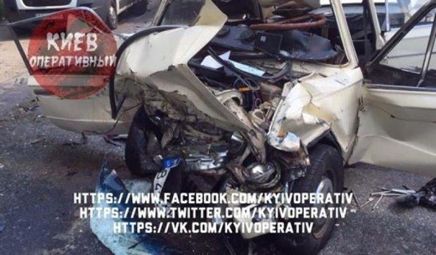 Тройная авария на Киевщине: 6 пострадавших (ФОТО)