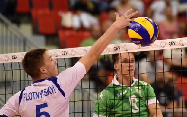 Мужская сборная Украины по волейболу вышла в Финал Четырех Евролиги
