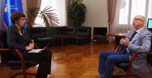 Интервью с Резниковым, скриншот