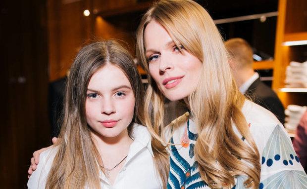 Фреймут з донькою Златою