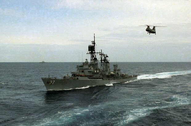 Эсминец USS Farragut