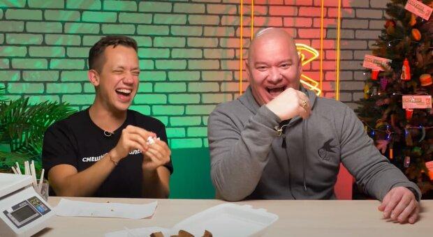 Олексій Дурнєв та Євген Кошовий, скріншот з відео