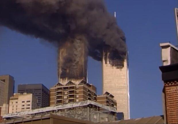Теракты 11 сентября, скриншот видео