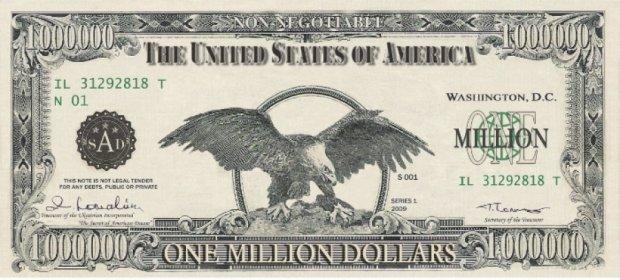 У Туреччині вилучили 1 млн доларів  однією банкнотою