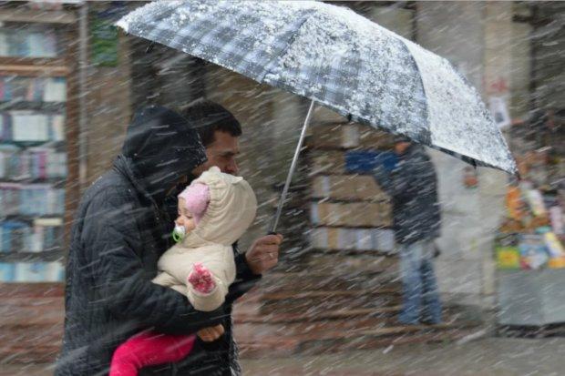 Погода на 30 января: украинцев промочит до косточек
