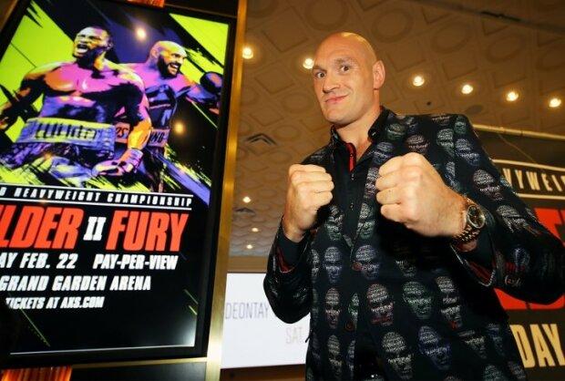 Тайсон Фьюри, boxingscene.com