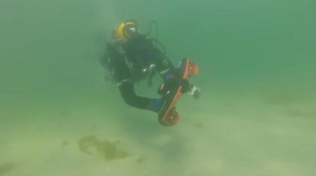 На дні моря знайшли авіабомбу, скріншот: Mykolaiv DSNS