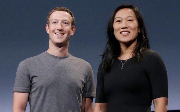Цукерберг показав найсолодші обійми