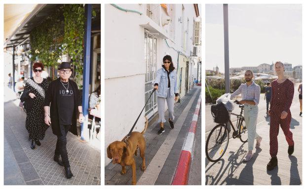 Подорожі в картинках: люди на вулицях Тель-Авіва