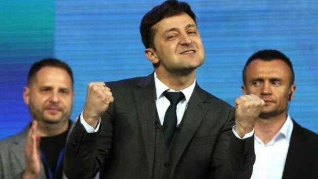 Зеленский прокричал о любви на всю Украину