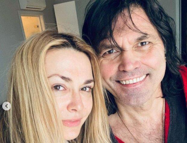 Ольга Сумська з чоловіком, фото з Instagram