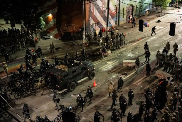 Противостояние в Сиэтле, фото: Getty Imagrs