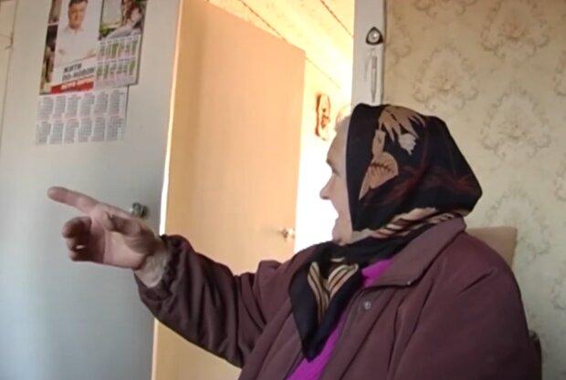 Пенсионерка, кадр из видео