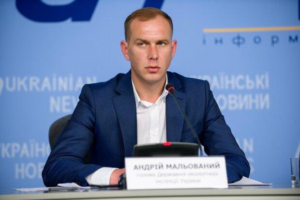Андрей Малеванный, председатель Госэкоинспекции \\ фото из Facebook