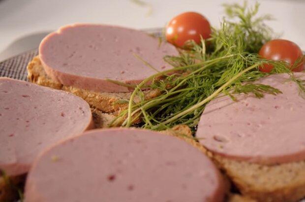 Колбаса без мяса, кадр из видео