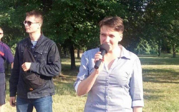 Настоящие герои АТО проучили Савченко