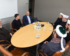 Зеленський зустрівся з муфтіями мусульман України