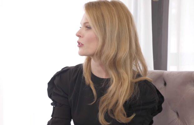 Ольга Фреймут, скрин из видео