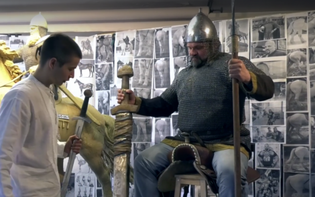 У Києві зведуть пам'ятник видатному богатирю української історії: відео