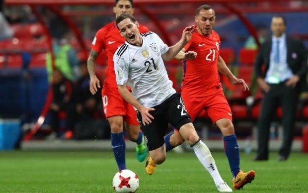 Німеччина - Чилі 1:1 Відео голів та огляд матчу