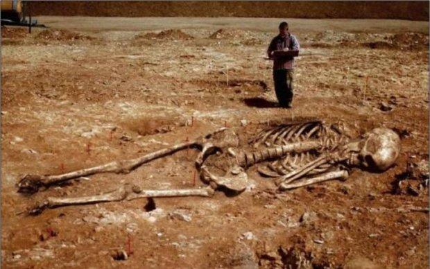 Археологи нашли останки древних атлантов