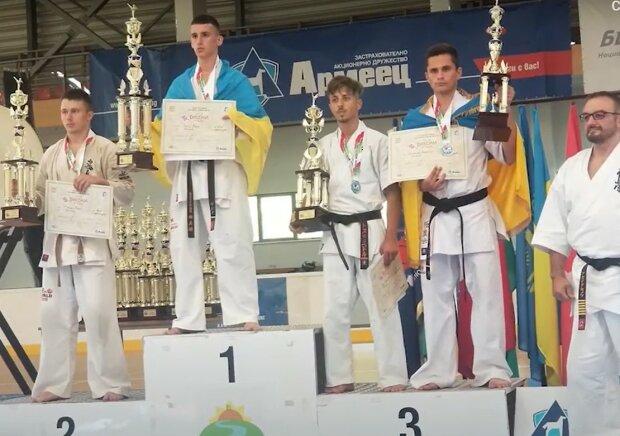 Закарпатець Юрій Русин став переможцем Кубку світу з кіокушин карате, скріншот