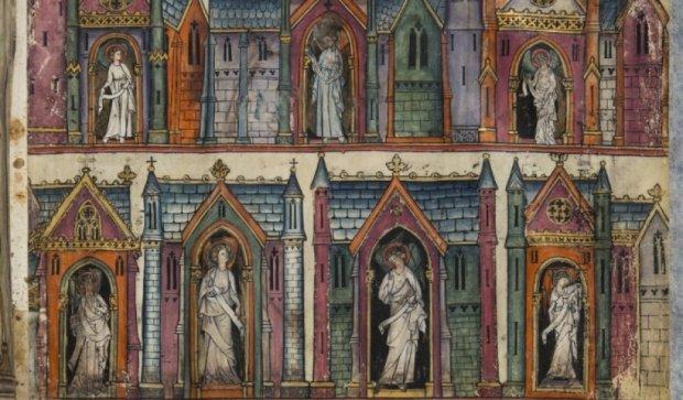 Французы оцифровали одну из древнейших рукописей Апокалипсиса (фото)