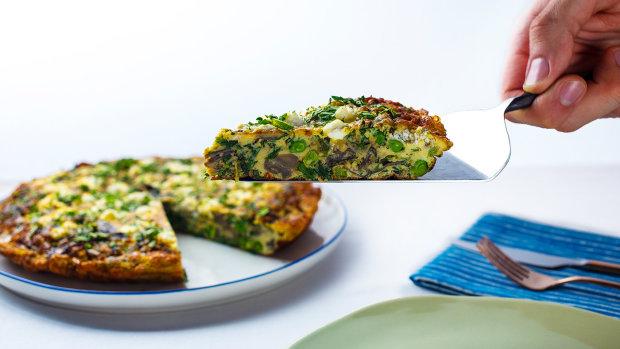Рецепт для шанувальників італійської кухні: фрітата з часником та грибами