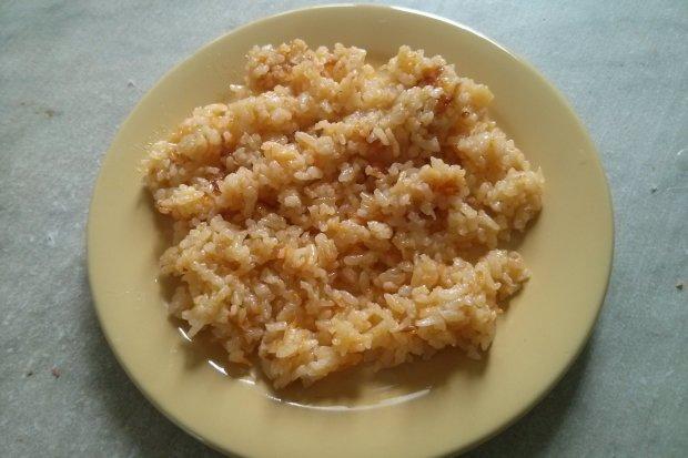 Готовим вместе: жареный рис с морковью и луком