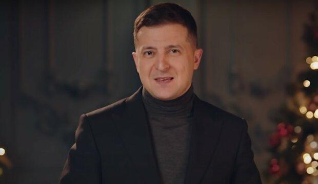 Зеленський, скріншот з відео