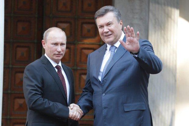 Янукович с Путиным