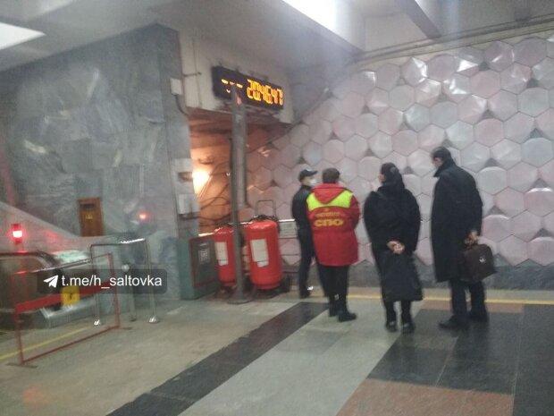 Пьяный харьковчанин остановил работу метро