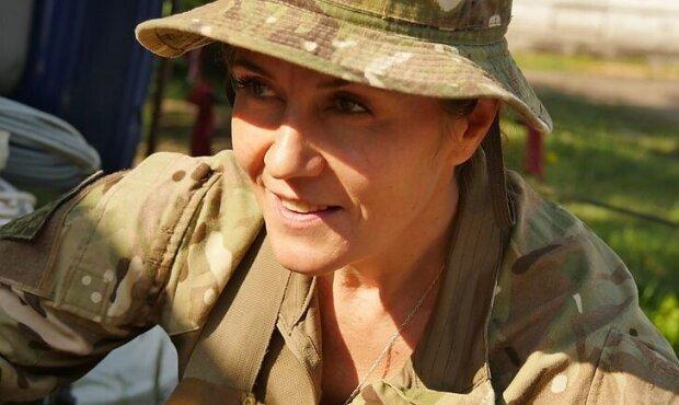 Киевлянка Оксана, фото: Донбасс Информ