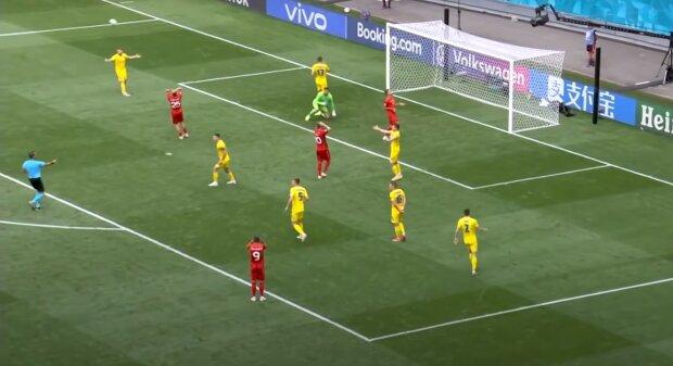 сборная Украины, скриншот из видео