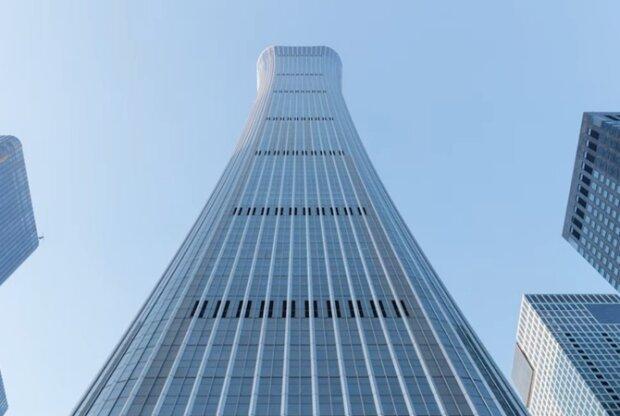 В Пекине построили небоскреб высотой 538 метров: рекордный дом попал в десятку самых высоких зданий мира, видео