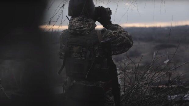 Оккупанты летают над головами наших воинов на Донбассе: используют пулеметы, гранатометы и не стесняются