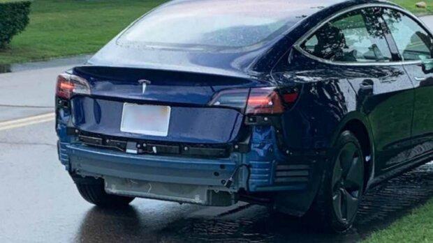 ДТП с Tesla, carscoops