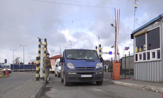 На українському кордоні, кадр з відео