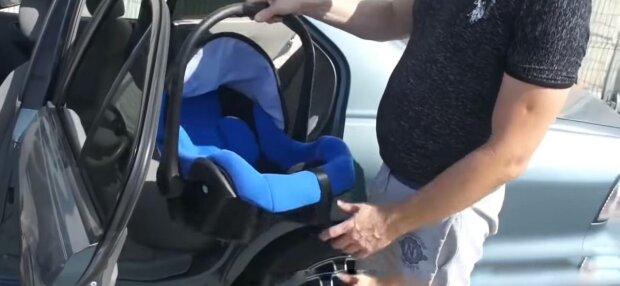 Дитяче крісло, фото: скріншот з відео