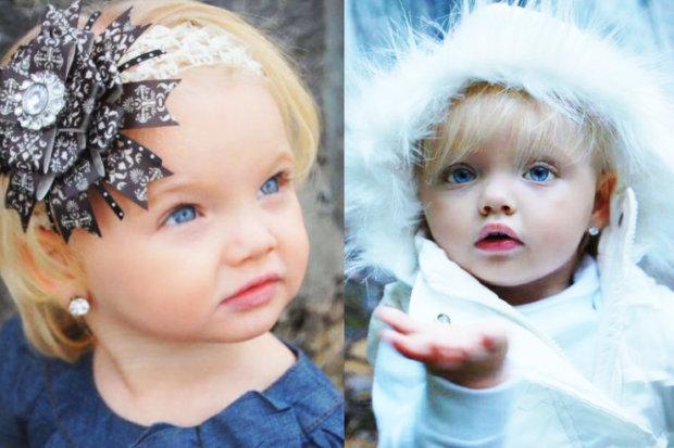 От ангельской очарования ни следа: самая красивая девочка в мире изменилась до неузнаваемости
